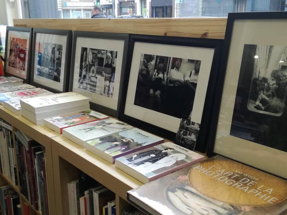 Déborah Priem expose à la librairie !
