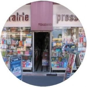 Vitrine de la librairie Touzard (2005)
