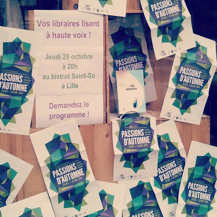 Passions d'Automne : vos libraires lisent à voix haute…