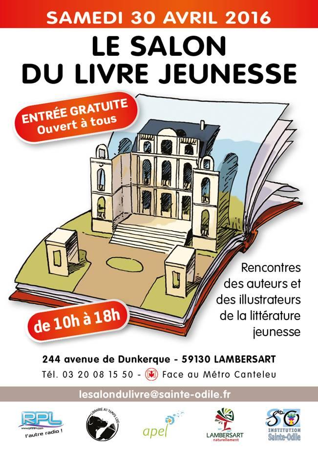 Le salon du livre jeunesse de sainte odile lambersart - Salon livre jeunesse ...