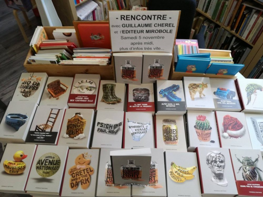 Guillaume Chérel en dédicace à la librairie
