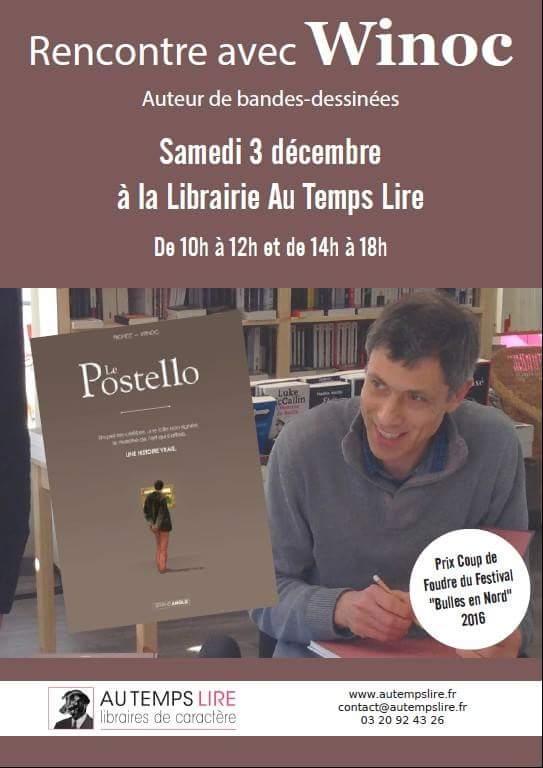 Rencontre avec Winoc ce samedi 3 décembre