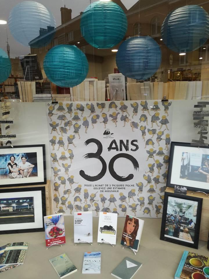 Picquier fête ses 30 ans !