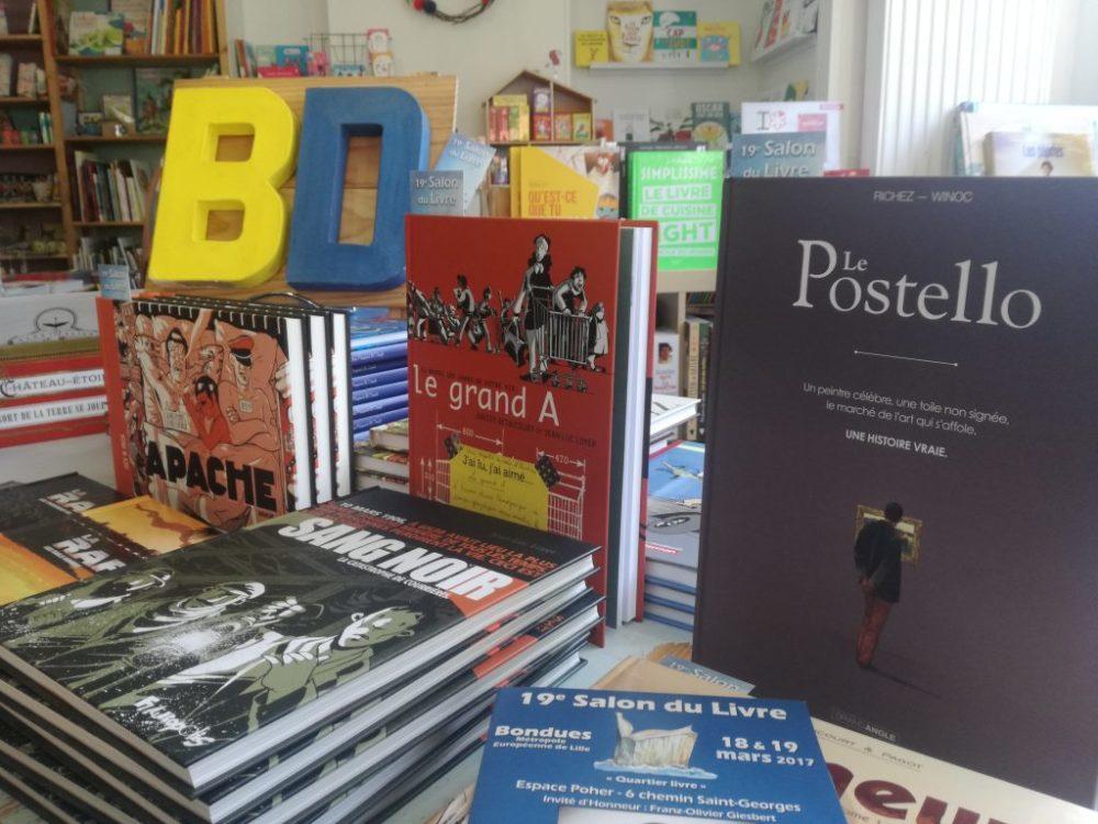 Rencontres BD au Salon du Livre de Bondues les 18 et 19 mars