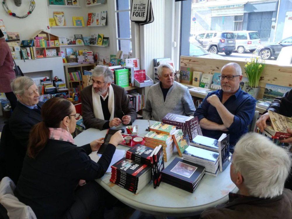 Souvenirs de la rencontre avec nos 5 auteurs régionaux