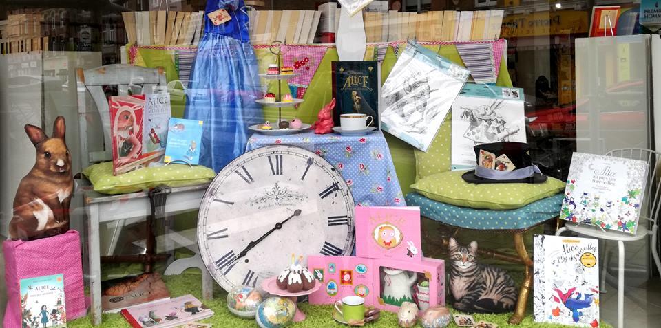 Alice au pays des libraires !