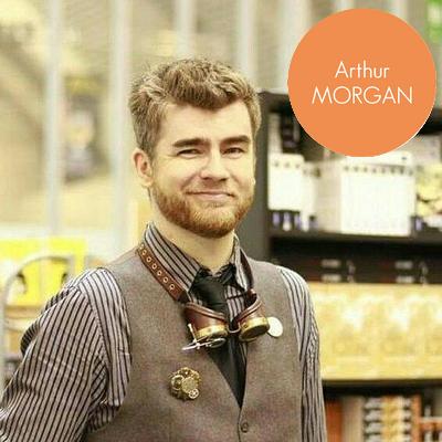 Arthur Morgan sera présent au Salon du Livre Jeunesse de Sainte Odile - Lambersart