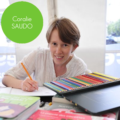 Coralie Saudo sera présente au Salon du Livre Jeunesse de Sainte Odile - Lambersart