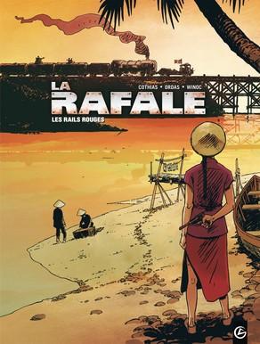 1er tome de la trilogie La Rafale chez Grand Angle par Winoc
