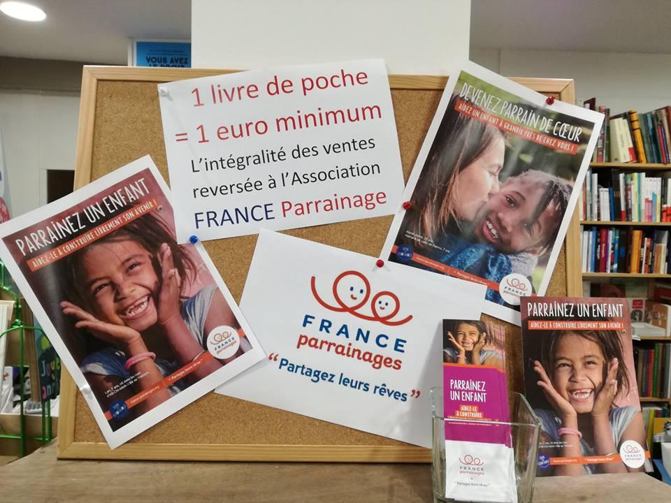 Opération Solidaire avec France Parrainages