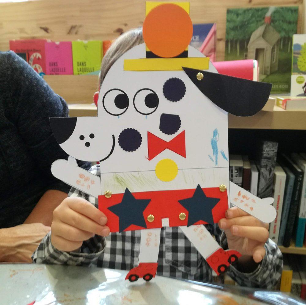 Souvenirs de l'atelier jeunesse GRAOU pour les 3-6 ans !