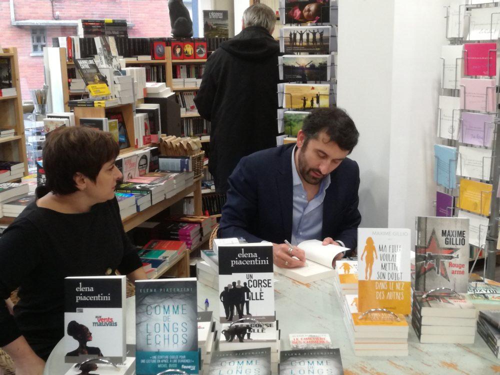 Souvenirs de la rencontre avec Elena Piacentini et Maxime Gillio