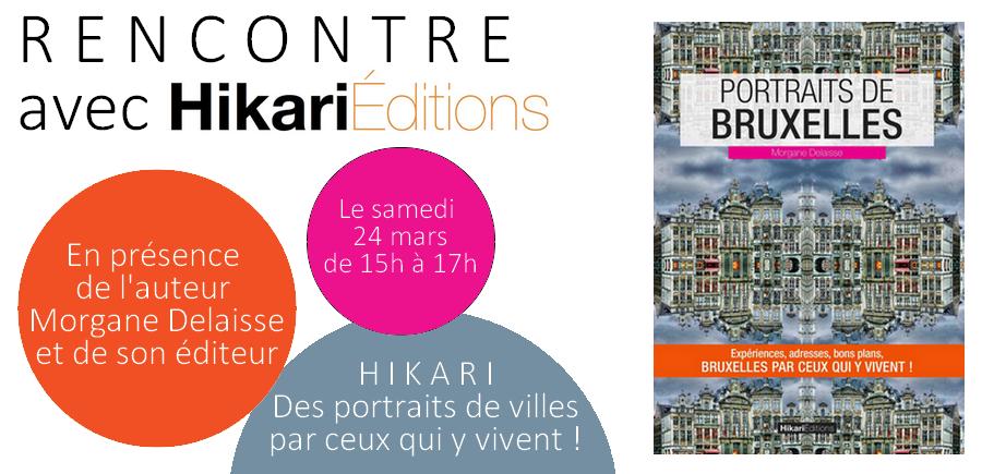 Rencontre avec Morgane Delaisse et les éditions Hikari