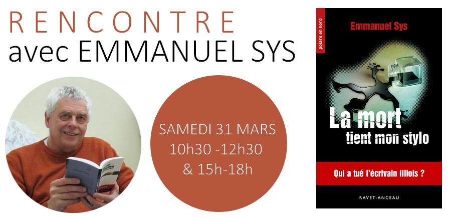 Rencontre avec Emmanuel Sys