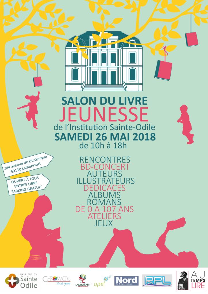 LE SALON DU LIVRE JEUNESSE DE LAMBERSART 2018 !