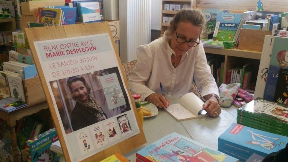 Souvenir de la rencontre avec Marie Desplechin