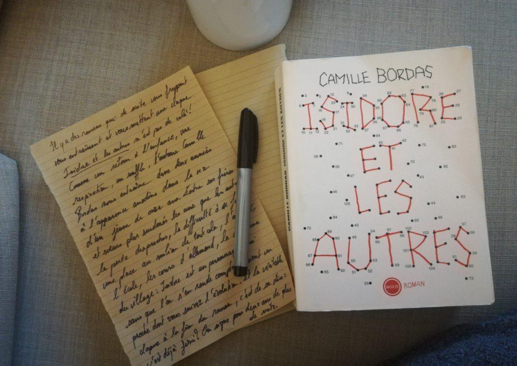 Isidore et les autres de Camille Bordas