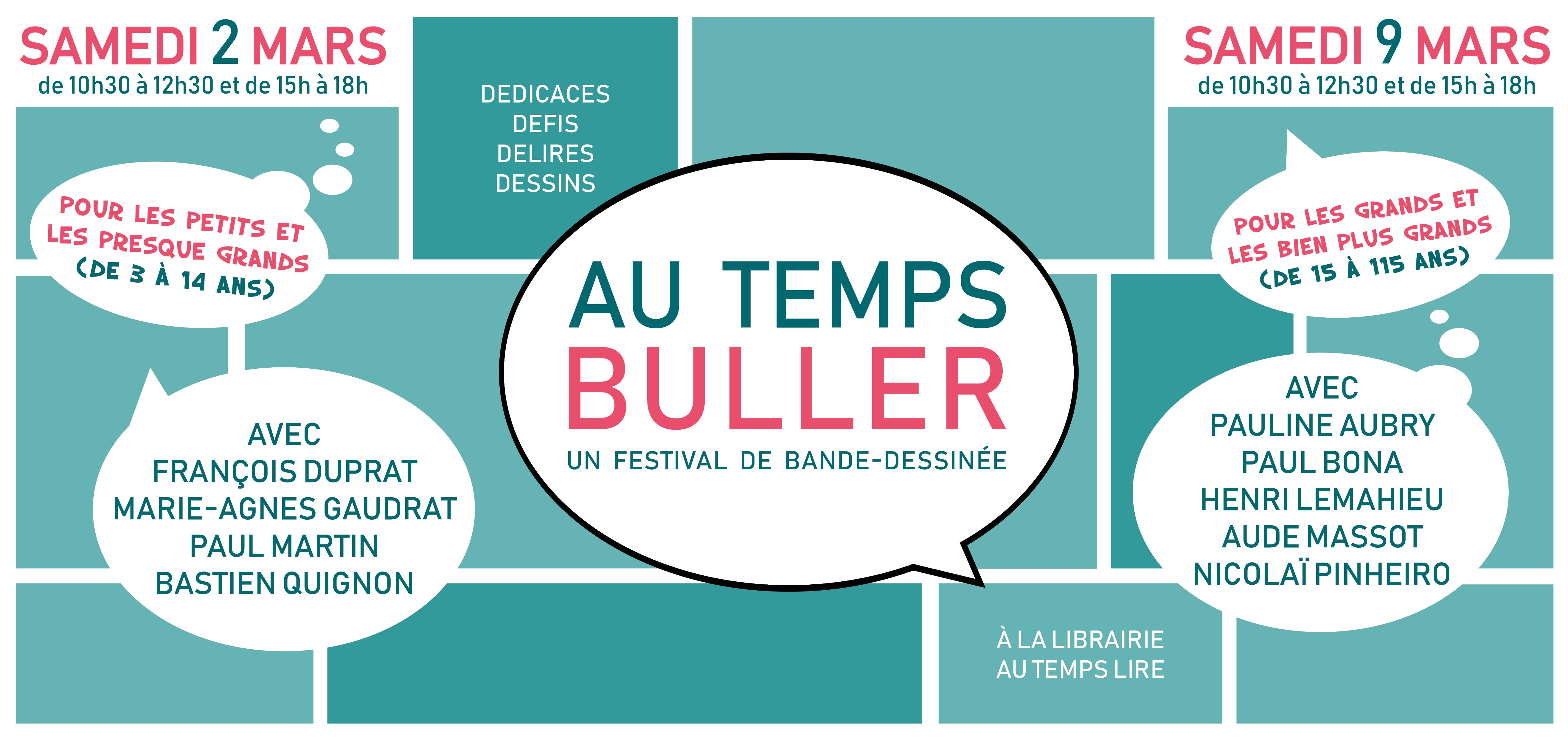 Au Temps Buller 2019
