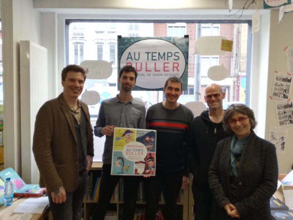 Souvenirs de notre Festival BD Au Temps Buller 2019