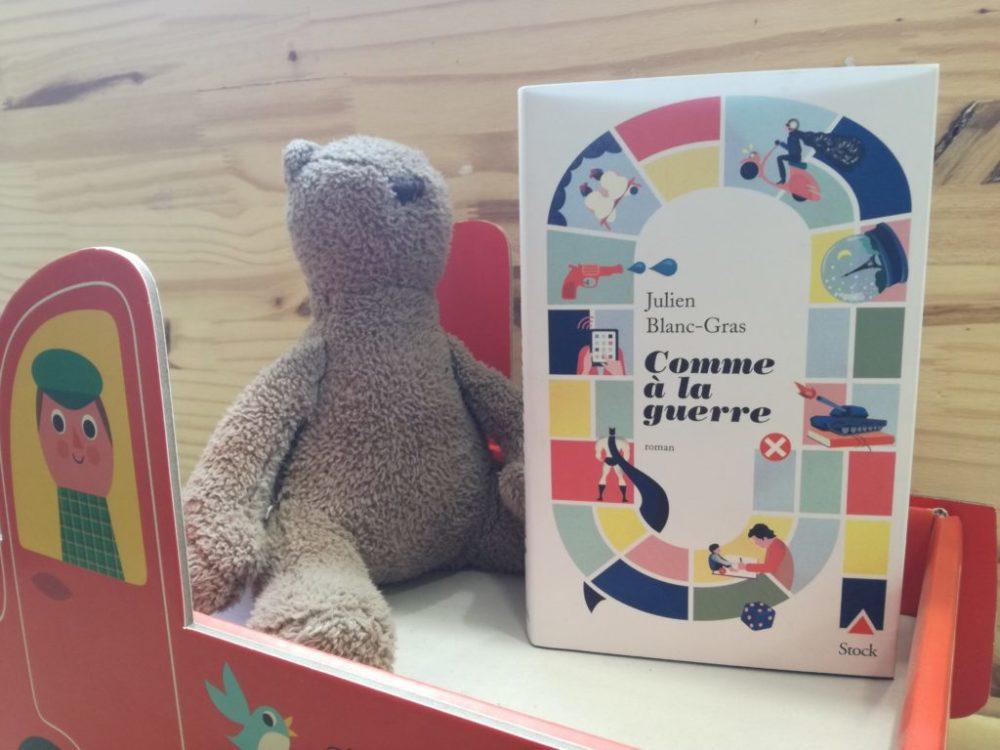 COMME A LA GUERRE, Julien Blanc-Gras, éditions Stock