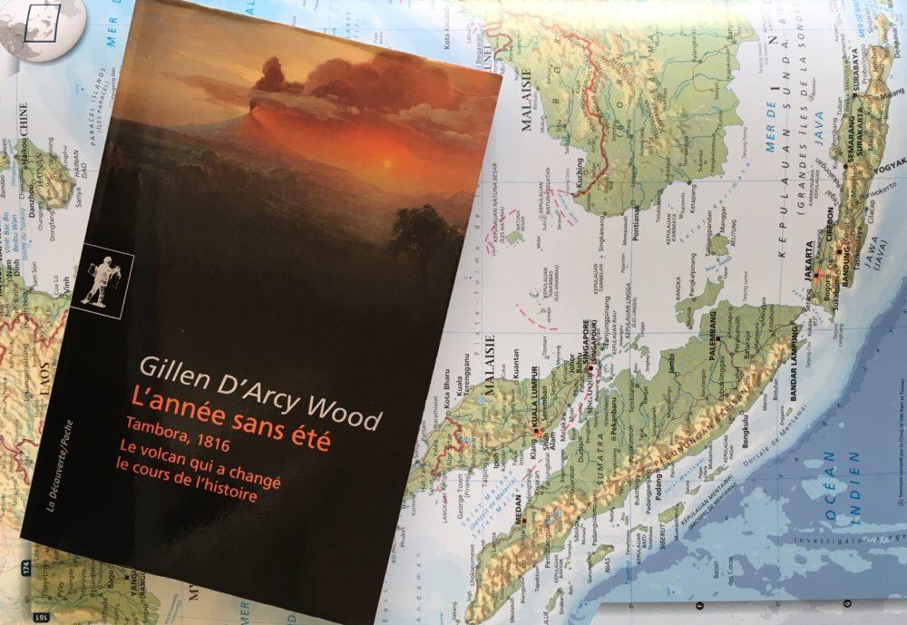 L'ANNÉE SANS ÉTÉ, Gillen d'Arcy Wood, éditions La Découverte