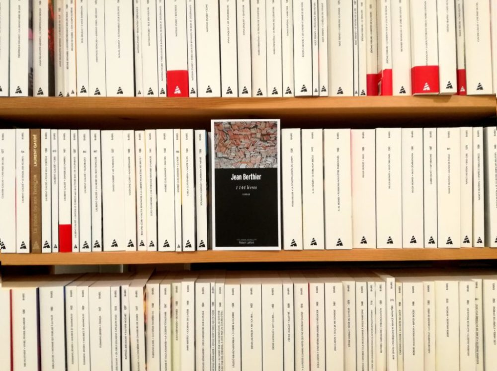 1144 LIVRES, Jean Berthier, éditions Robert Laffont