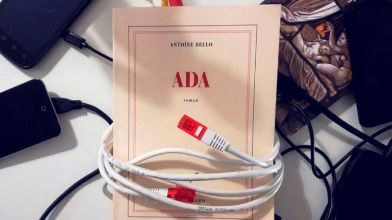 ADA, Antoine Bello, éditions Gallimard