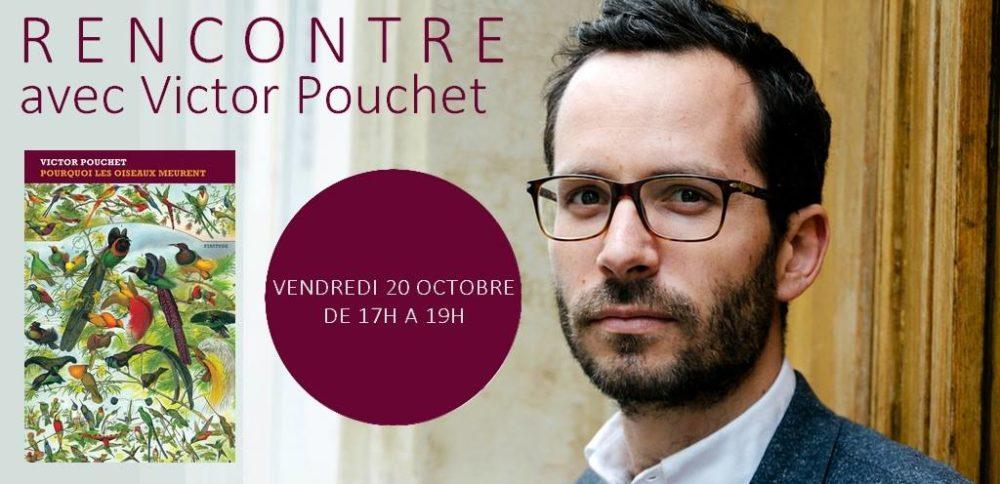 Souvenirs de la rencontre avec Victor Pouchet !