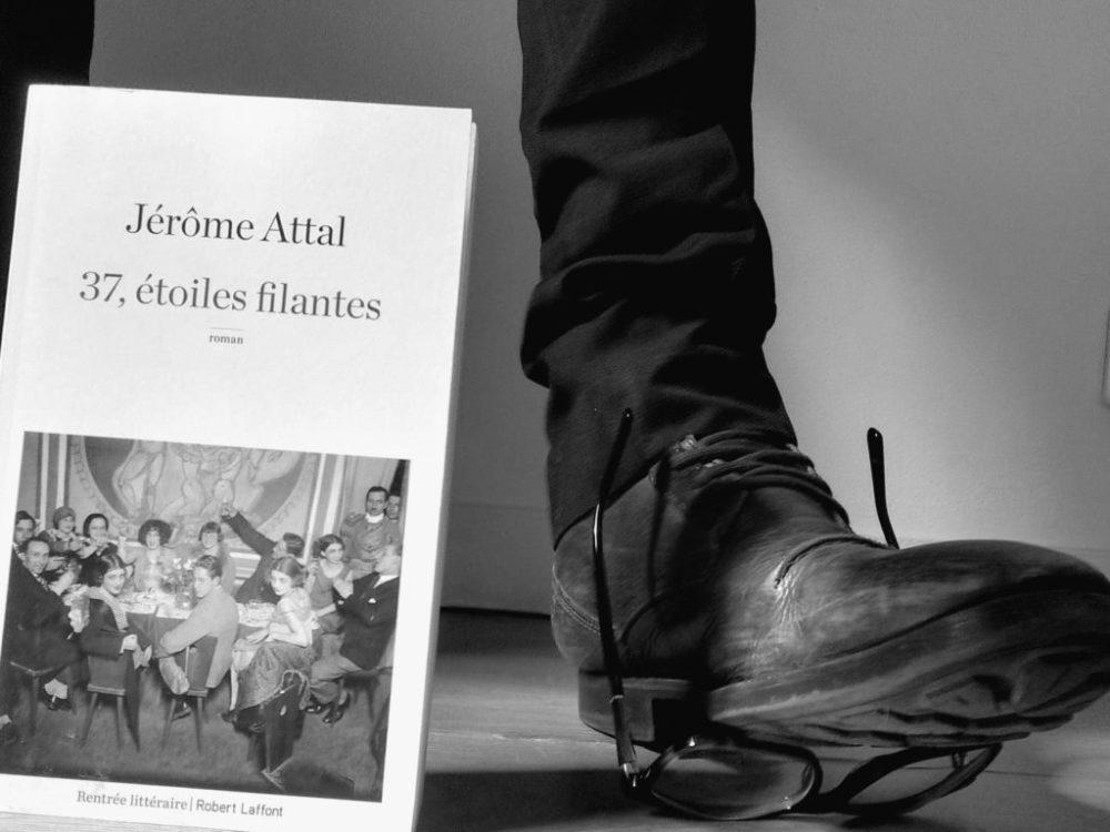 37 ÉTOILES FILANTES, Jérôme Attal, éditions Robert Laffont