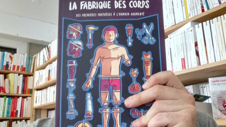 LA FABRIQUE DES CORPS, Héloïse Chochois, éditions Delcourt