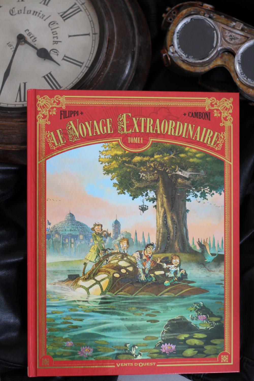 LE VOYAGE EXTRAORDINAIRE, Filippi/Camboni, éditions Vents D'ouest,