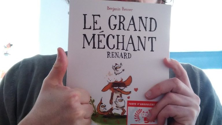 LE GRAND MÉCHANT RENARD, Benjamin Renner, éditions Shampooing