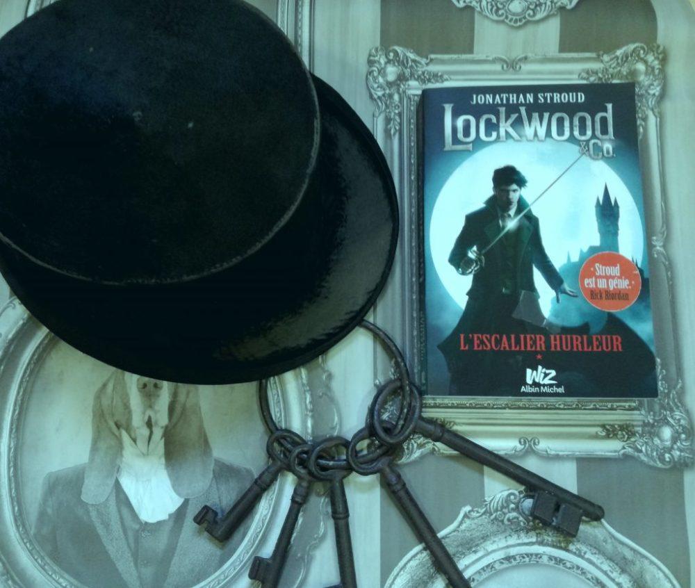 LOCKWOOD & CO, Jonathan Stroud, éditions Albin Michel