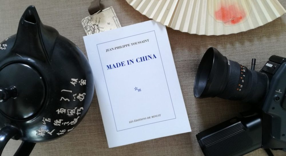 MADE IN CHINA, Jean-Philippe Toussaint, Éditions de Minuit