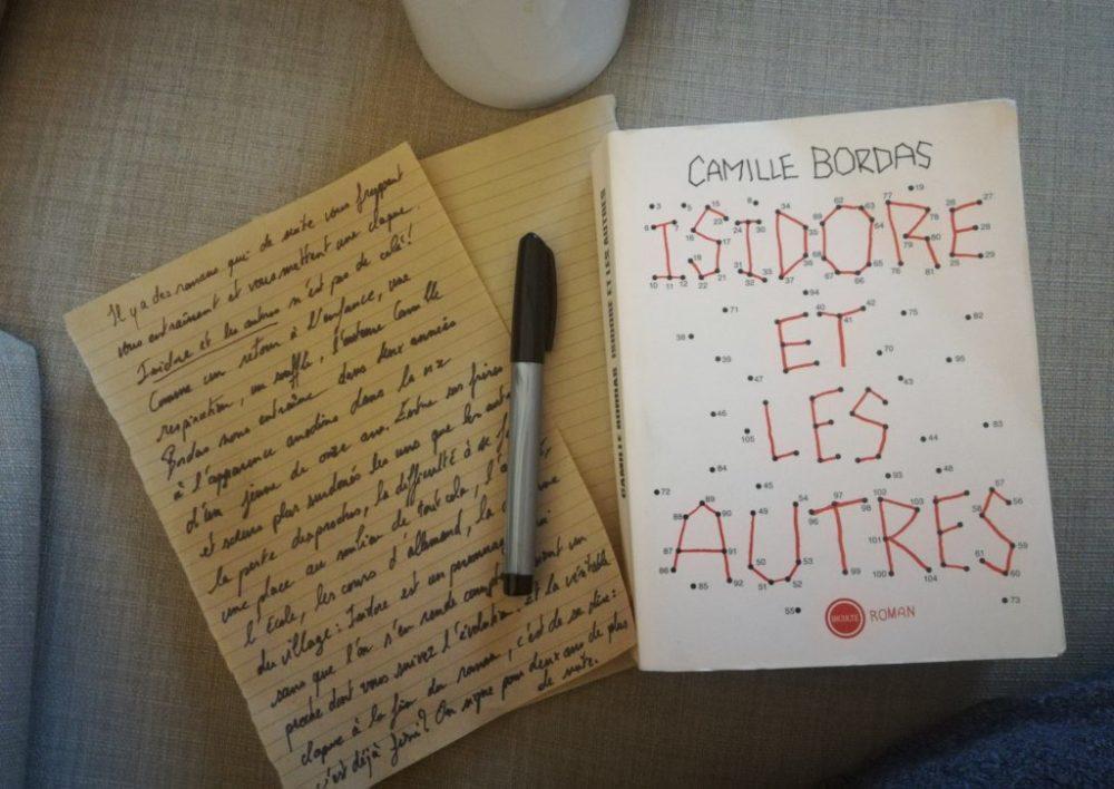 ISIDORE ET LES AUTRES, Camille Bordas, éditions Inculte