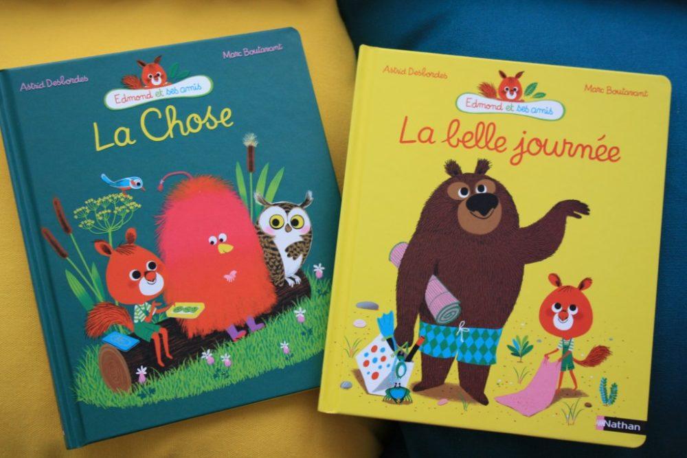 LA CHOSE & LA BELLE JOURNÉE, Astrid Desbordes & Marc Boutavant, éditions Nathan