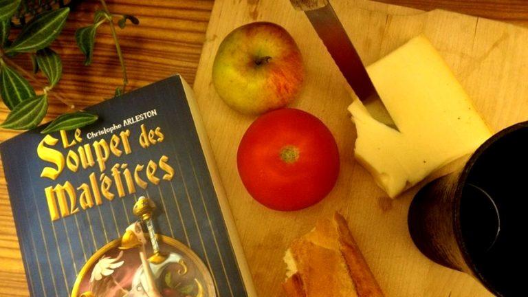 LE SOUPER DES MALÉFICES, Christophe Arleston, éditions ActuSF