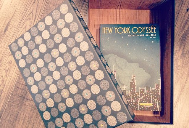 NEW YORK ODYSSEE, Kristopher Jansma, éditions Rue Fromentin