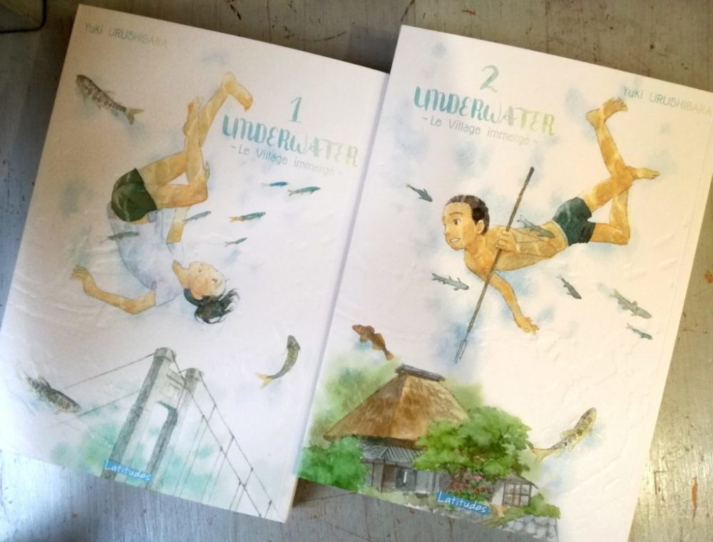 UNDERWATER, Yuki Urushibara, éditions Ki-oon