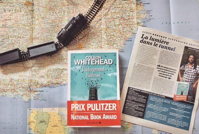 UNDERGROUND RAILROAD, Colson Whitehead, éditions Albin Michel