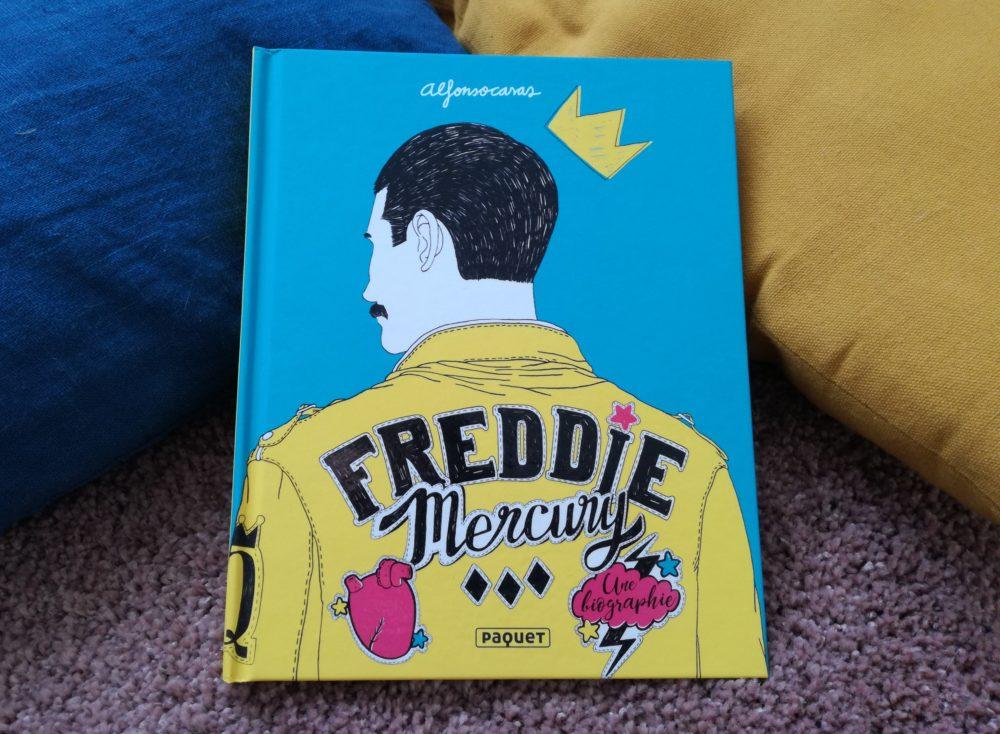 FREDDIE MERCURY, Alfonso Casas, éditions Paquet
