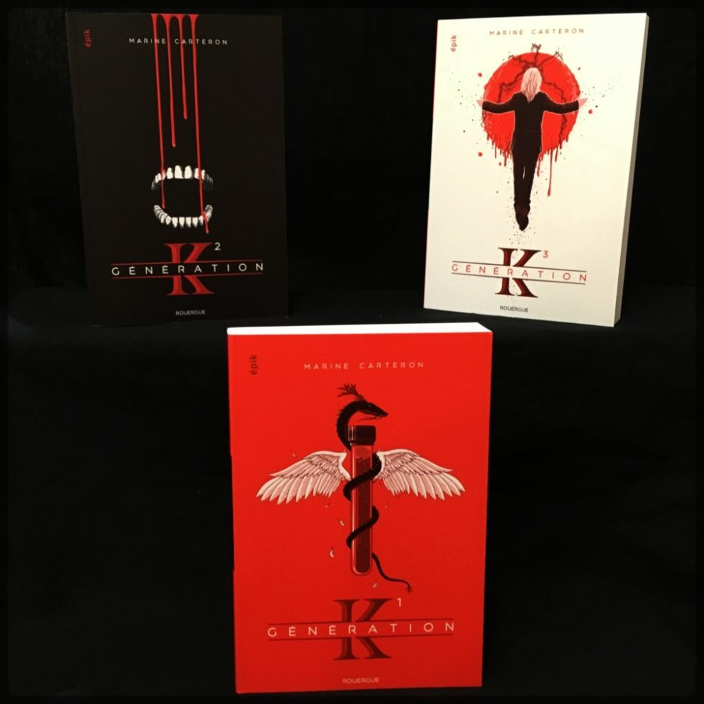 GENERATION K, Marine Carteron, éditions du Rouergue