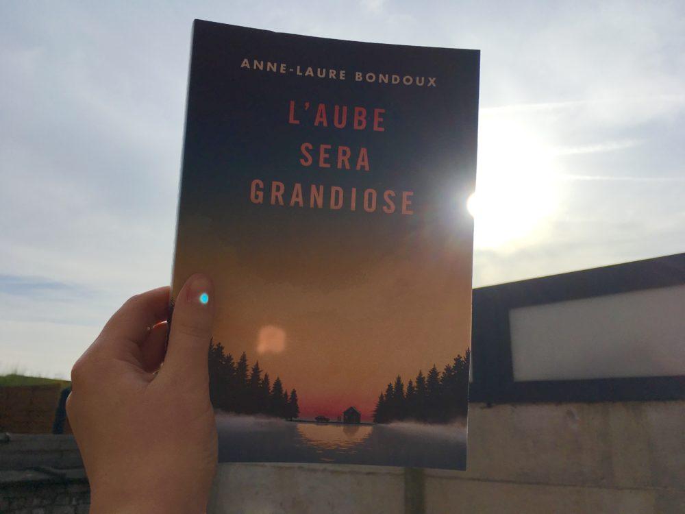 L'AUBE SERA GRANDIOSE, Anne-Laure Bondoux, éditions Gallimard Jeunesse