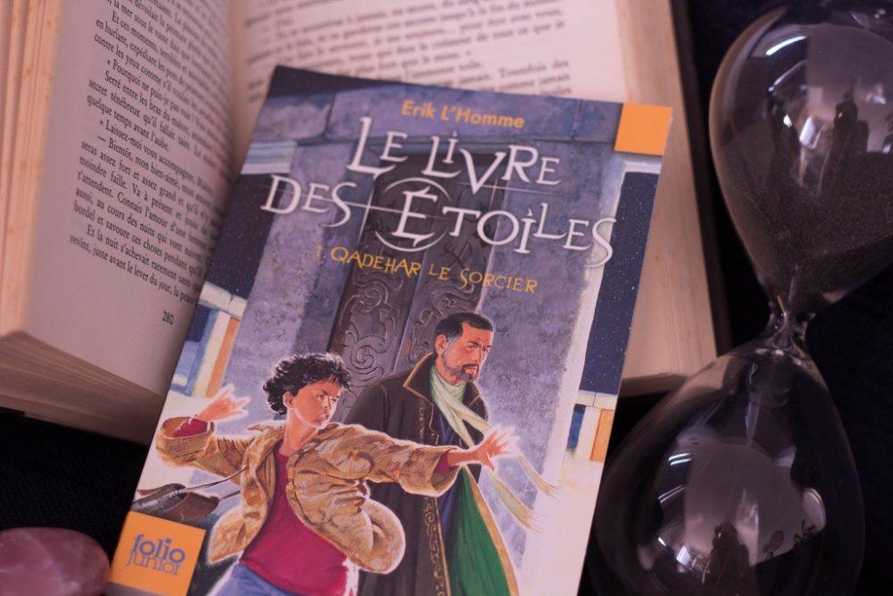 LE LIVRE DES ÉTOILES, Erik L'Homme, éditions Gallimard Jeunesse