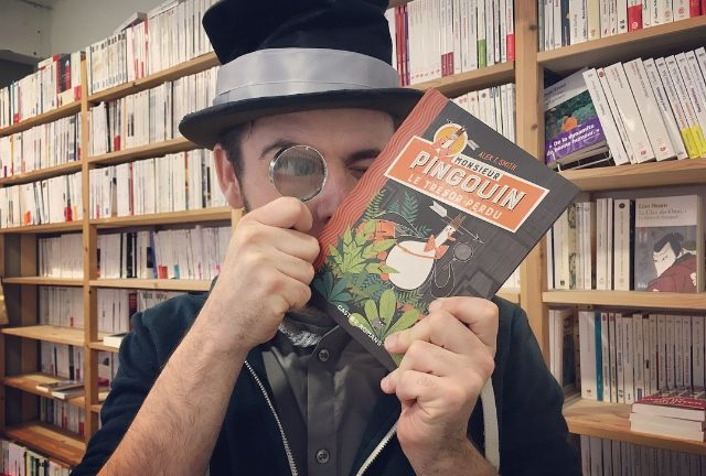 MONSIEUR PINGOUIN, Alex T. Smith, éditions Flammarion