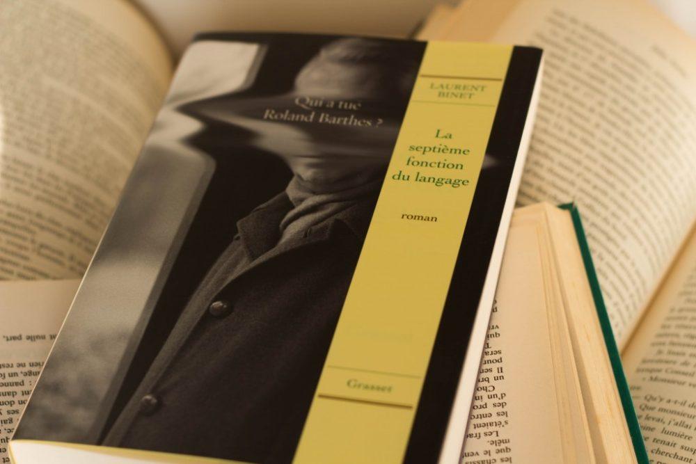LA SEPTIÈME FONCTION DU LANGAGE, Laurent Binet, éditions Grasset