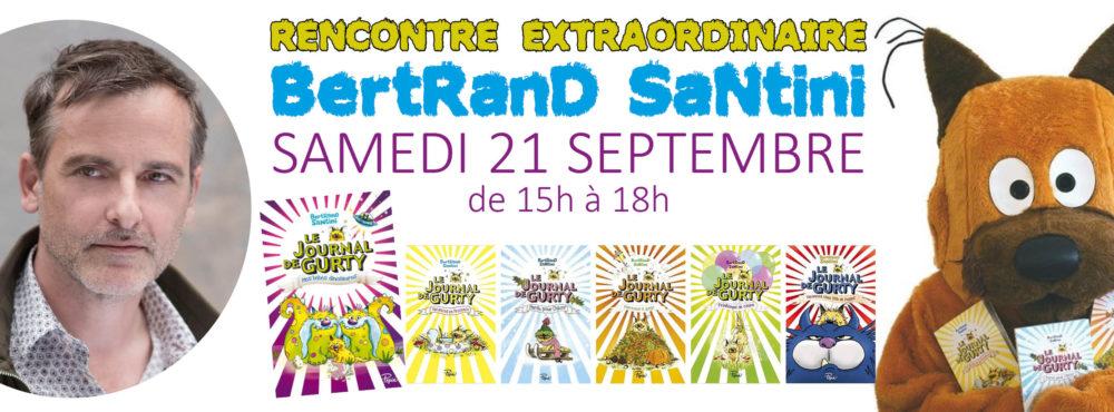 SAMEDI 21 SEPTEMBRE : Rencontre Jeunesse avec Bertrand Santini