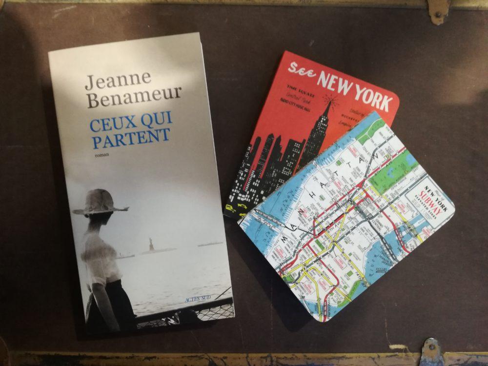 CEUX QUI PARTENT, Jeanne Benameur, éditions Actes Sud