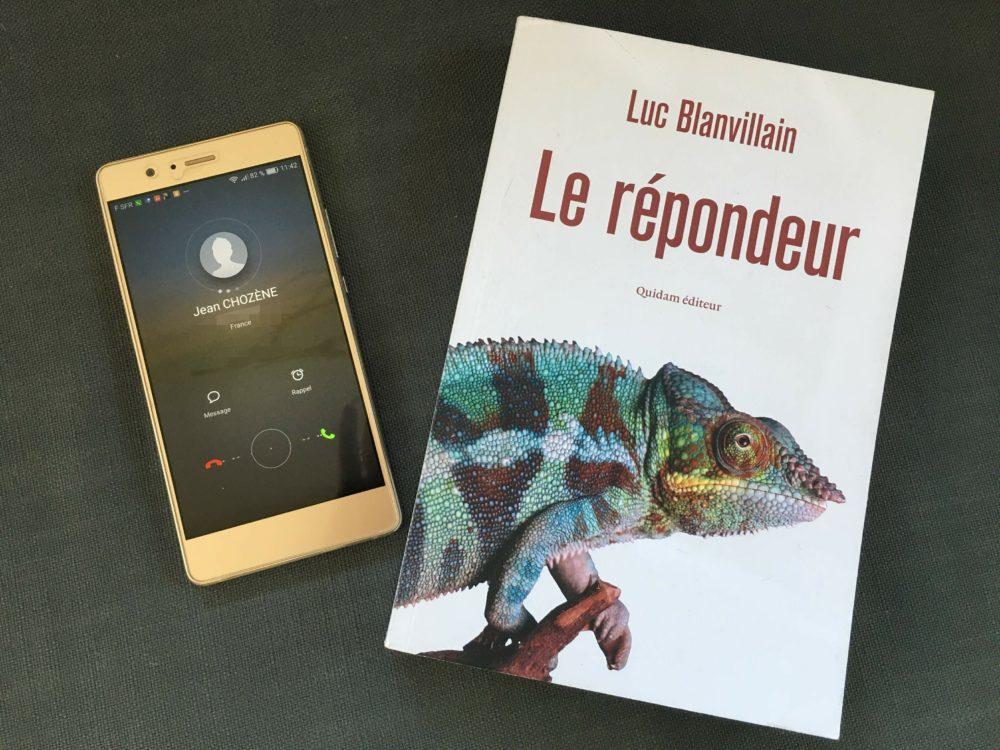 LE REPONDEUR, Luc Blanvillain, Quidam éditeur