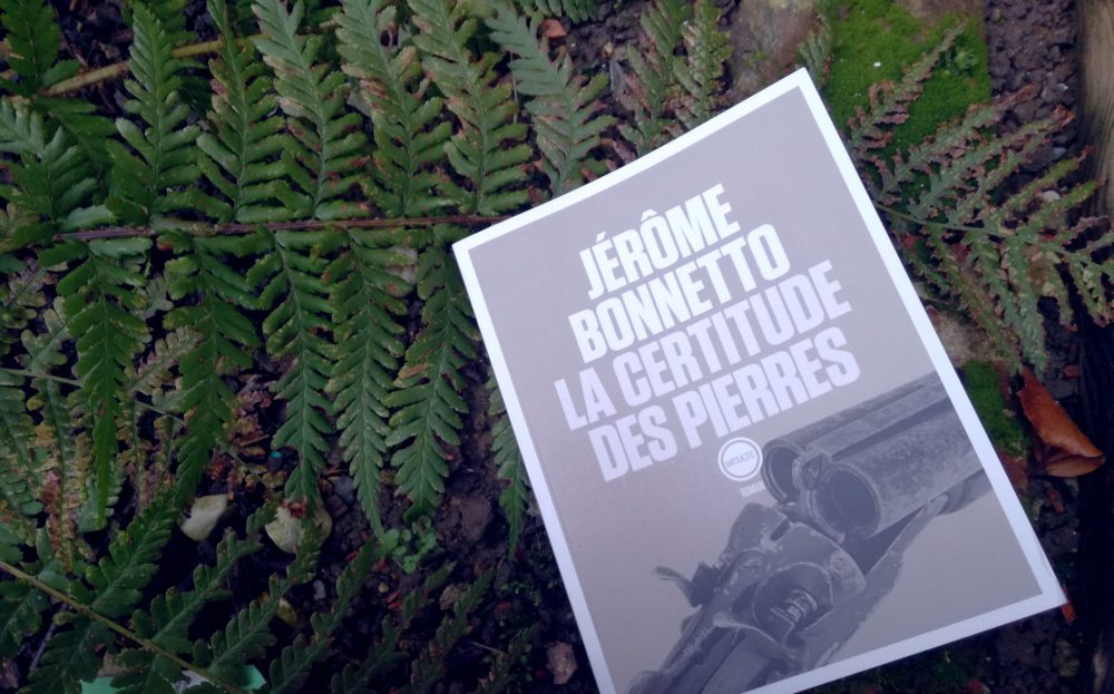 LA CERTITUDE DES PIERRES, Jérôme BONNETTO, éditions INCULTE